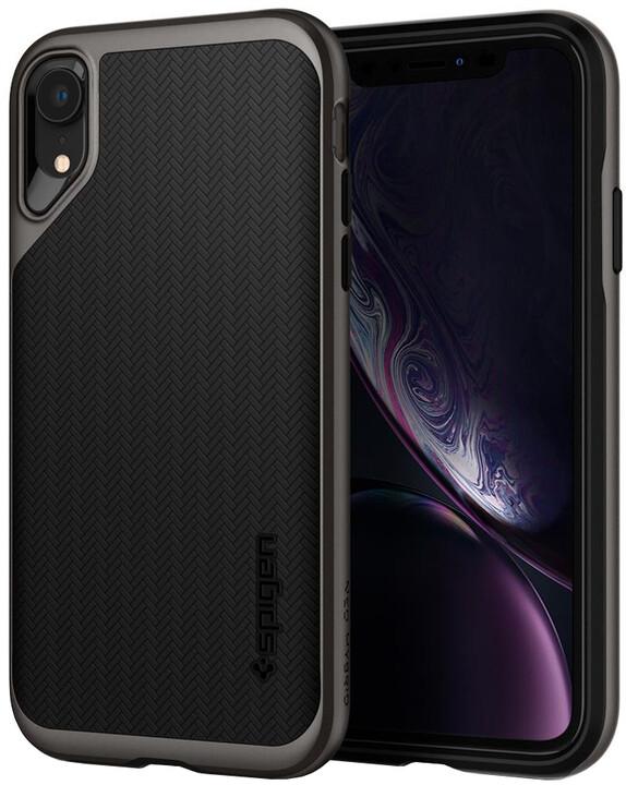 Spigen Neo Hybrid iPhone Xr, gunmetal