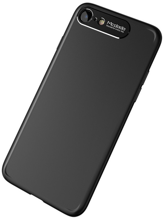 Mcdodo iPhone 7/8 Sharp Aluminum Alloy Case (Aluminum Alloy + PC), Black