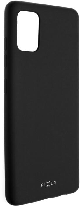 FIXED Story zadní pogumovaný kryt pro Samsung Galaxy A51, černá
