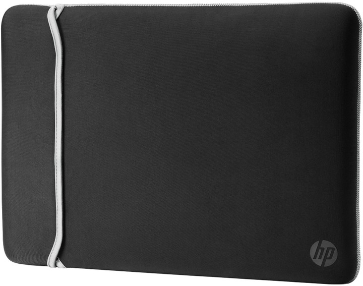 "HP 14.0"" Reversible Sleeve – Black/Silver"