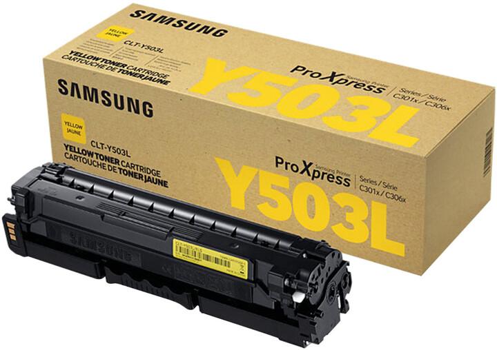 Samsung CLT-Y503L/ELS, žlutá