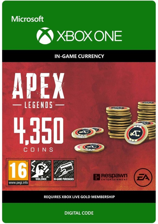 Apex Legends - 4350 Coins (Xbox ONE) - elektronicky