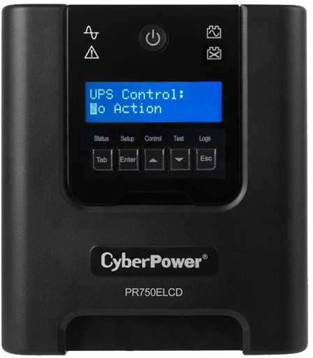 CyberPower Professional Tower 750VA/675W LCD