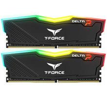 Team T-FORCE Delta RGB 16GB (2x8GB) DDR4 2400, black CL 15 TF3D416G2400HC15BDC01