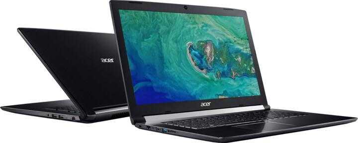 Acer Aspire 7 kovový (A717-72G-57V7), černá