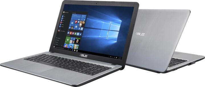 ASUS VivoBook X540BA, černá