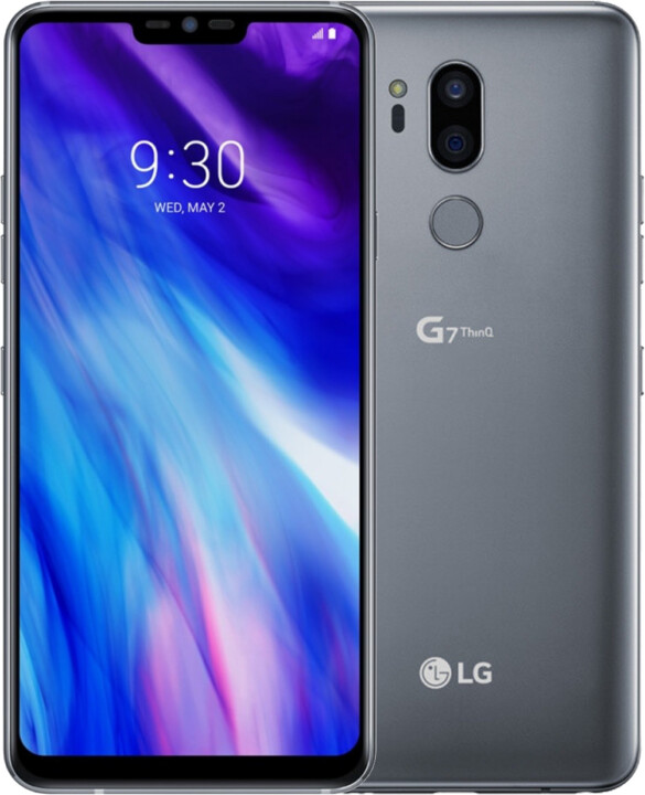 LG G7 ThinQ, 4GB/64GB, New Platinum Gray