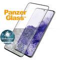 PanzerGlass ochranné sklo Premium pro Samsung Galaxy S21 ultra, antibakteriální, FingerPrint Ready, černá