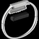 Fitbit Flex 2 náhradní pásek L, stříbrná
