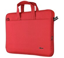"Trust taška na notebook Bologna 16"", červená"