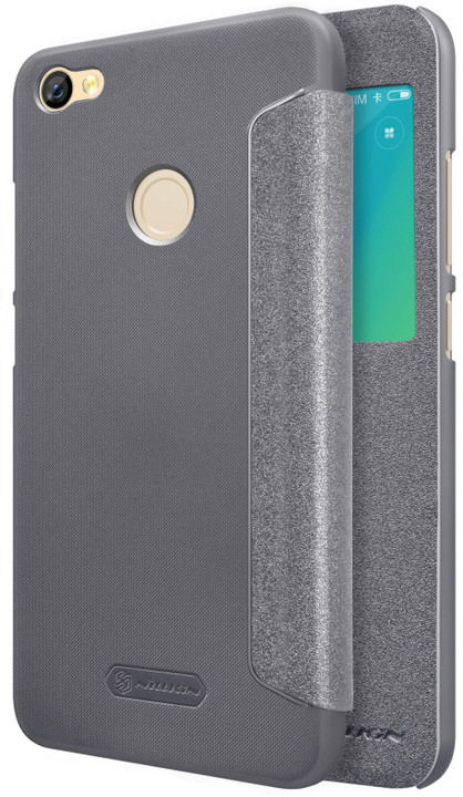 Nillkin Sparkle S-View pouzdro pro Xiaomi Redmi Note 5A Prime, Black
