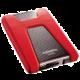 ADATA HD650, USB3.1 - 1TB, červená