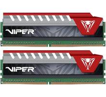Patriot Viper Elite red 8GB (2x4GB) DDR4 2400, červená