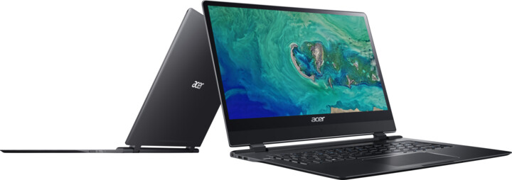 Acer Swift 7 celokovový (SF714-51T-M3UY), černá