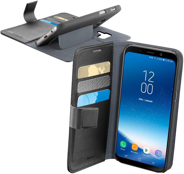 CellularLine Book Agenda Pouzdro typu kniha pro Samsung Galaxy A8 (2018), černé