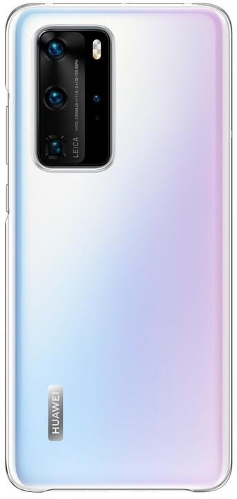 Huawei ochranné pouzdro pro P40 Pro, transparentní