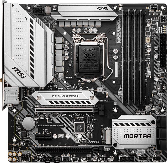 MSI MAG B460M MORTARWIFI - Intel B460