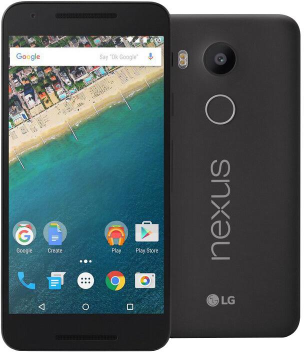 LG Nexus 5X, 2GB/32GB, černá/black