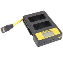 Patona nabíječka Dual Panasonic DMW-BLC12 E s LCD, USB - PT141625