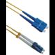 Masterlan optický patch cord, LCupc/SCupc, Duplex, Singlemode 9/125, 1m