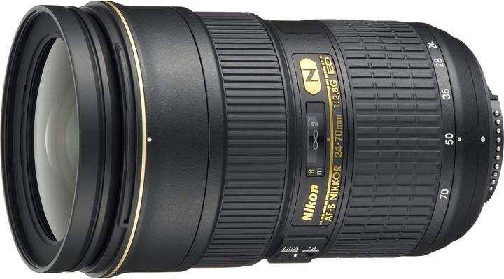 Nikon objektiv Nikkor 24-70MM F2.8G ED AF-S
