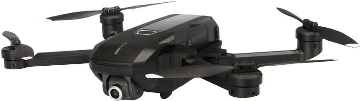 YUNEEC kvadrokoptéra - dron, Mantis Q se 4K kamerou a ovladačem, černá