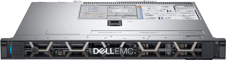 Dell PowerEdge R340 /i3-8100/8GB/1x1TB SATA/Emb. SATA/1x350W/iDRAC 9 Basic/1U/5YNBD