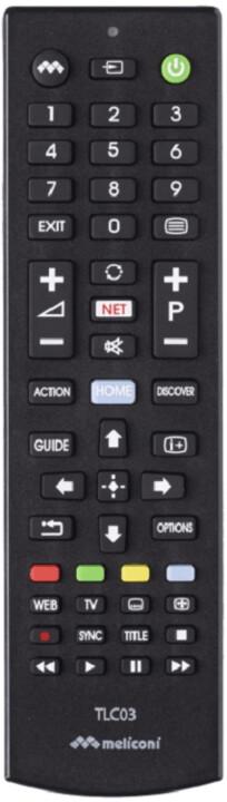 Meliconi univerzální dálkové ovládání TLC03 pro televize Sony