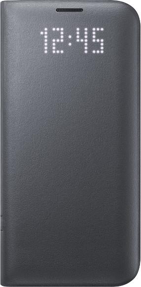 Samsung EF-NG935PB LED View Cover Galaxy S7e,Black