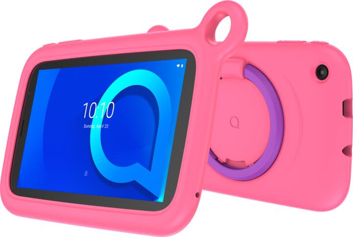Alcatel 1T 7 2019 KIDS, 1GB/16GB, Pink bumper case