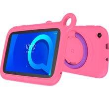Alcatel 1T 7 2019 KIDS, 1GB/16GB, Pink bumper case  + Elektronické předplatné čtiva v hodnotě 4 800 Kč na půl roku zdarma