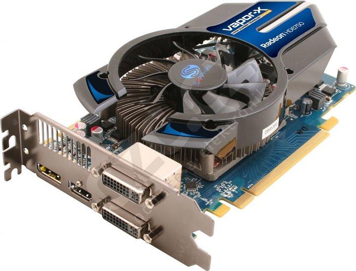 Sapphire HD 6750 Vapor X 1GB GDDR5
