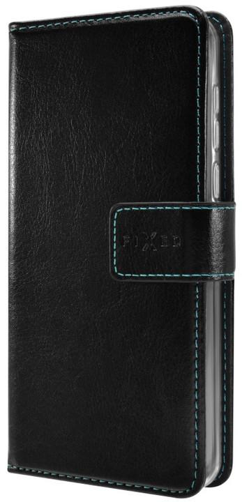 FIXED Opus pouzdro typu kniha pro ASUS ZenFone 4 Max (ZC554KL), černé