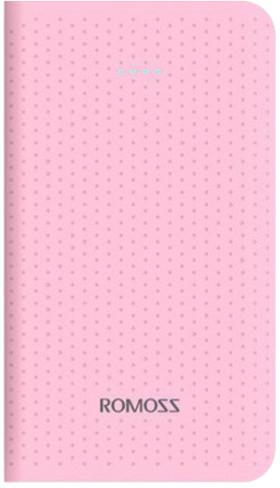 ROMOSS sense mini, 5000 mAh, růžová