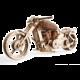 UGEARS stavebnice - Motorka Vm-02, dřevěná, mechanická