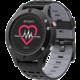 IMMAX chytré hodinky SW8, černo/šedá