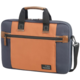 "Samsonite SIDEWAYS LAPTOP BAG 15.6"" BLUE/ORANGE"