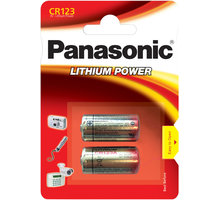 Panasonic baterie CR123 2BP Li - 35049294