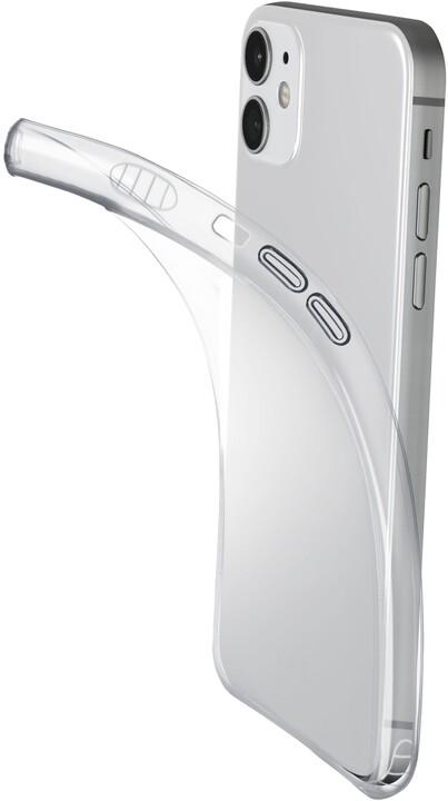 Cellularline extratenký zadní kryt Fine pro Apple iPhone 12 mini, transparentní