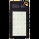 Viking solární outdoorová power banka Akula I 8000mAh Ultra Light, žlutá  + Voucher až na 3 měsíce HBO GO jako dárek (max 1 ks na objednávku)