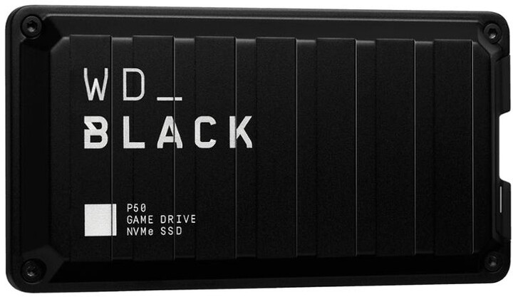 WD_BLACK P50 - 2TB, černá