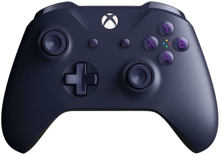 Xbox ONE S Bezdrátový ovladač, fialový + Fortnite DLC Bundle (PC, Xbox ONE)