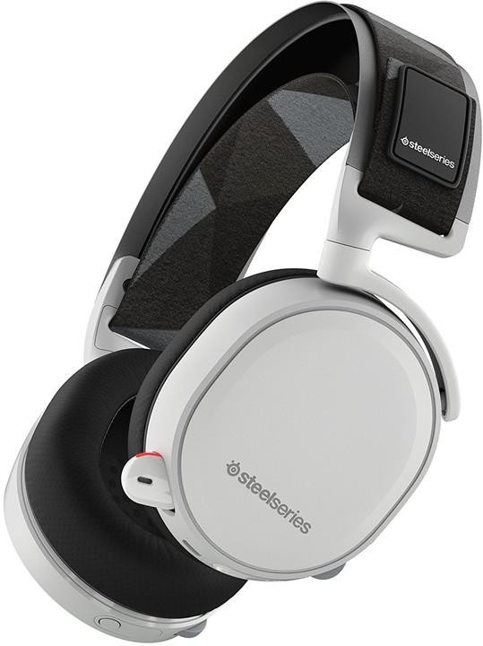 SteelSeries Arctis 7, bílá