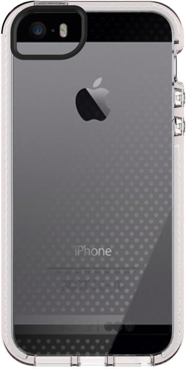 Tech21 Evo Mesh zadní ochranný kryt pro Apple iPhone 5/5S/SE, šedočirá