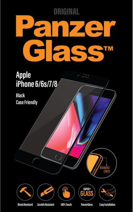 PanzerGlass Premium Privacy pro Apple iPhone 6/6s/7/8, černé