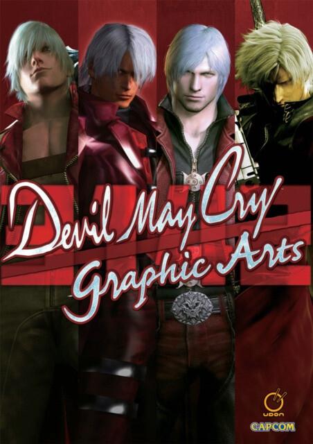 Kniha Devil May Cry: Graphic Arts