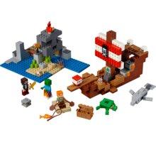 LEGO® Minecraft 21152 Dobrodružství pirátské lodi