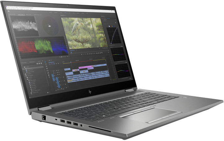 HP ZBook Fury 17 G7, šedá