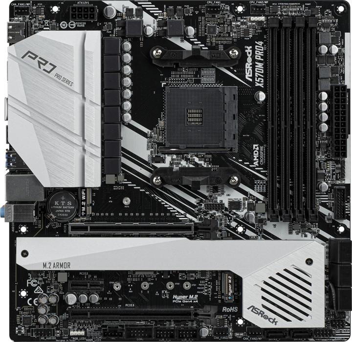 ASRock X570M PRO4 - AMD X570