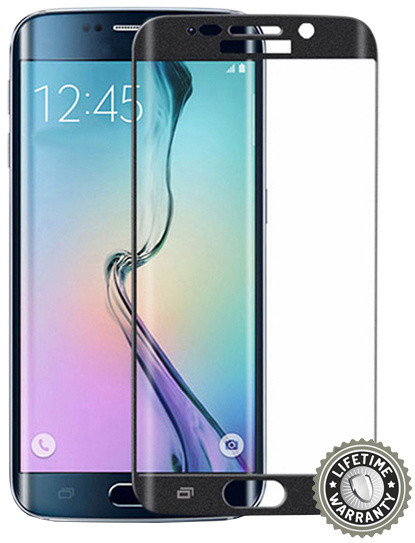 Screenshield ochrana displeje Tempered Glass pro Samsung Galaxy S6 Edge (SM-G925F), černá